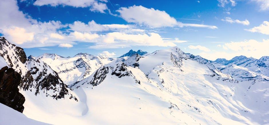 wyjątkowy górski pejzaż