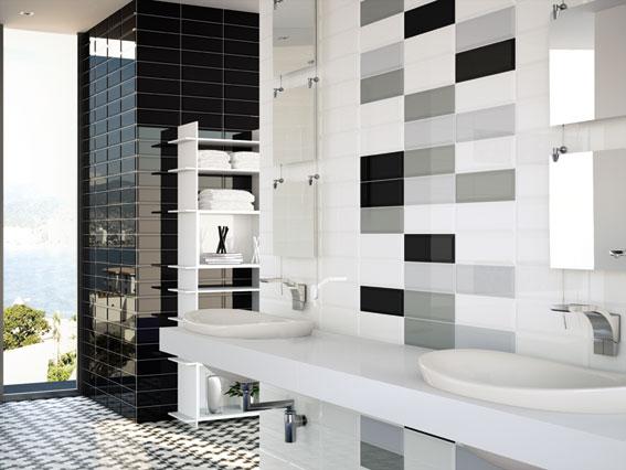idealne cegiełki w łazience