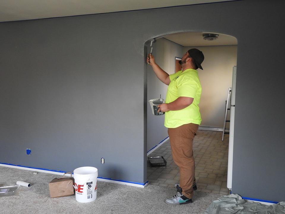 malowanie nowego mieszkania
