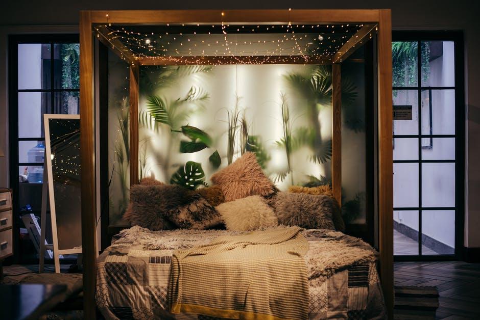 Sypialnia jako oaza wypoczynku.